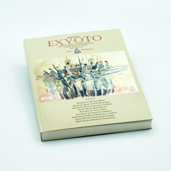 Revista Exvoto nº 0, de divulgación con la que la Hermandad pretende incentivar el estudio, la interpretación y el conocimiento de la realidad rociera