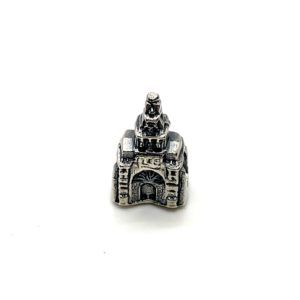 Charm Santuario de Nuestra Señora del Rocío fabricado en Plata de Primera Ley. Compatible con pulsera Pandora.