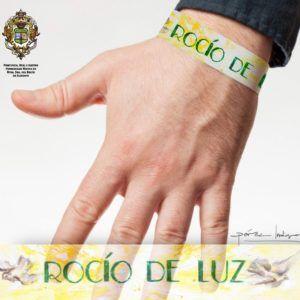 Cada año realizamos la pulsera oficial de la romería, este año tendremos la de este Rocío de Luz 2020 Pack de 5 unidades