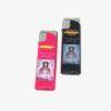 Pack compuesto por 2 mecheros Traslado 2019-2020 de la Virgen del Rocío, en colores: Rosa y negro. Recargables.