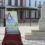 Ricardo Gil pinta el cartel del centenario del monumento del Real del Rocío