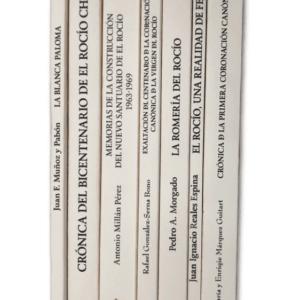 """Colección de libros """"REGINA RORIS"""", los siete títulos unidos en una colección."""